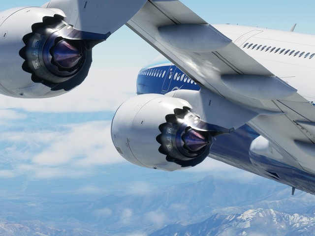 Microsoft Flight Simulator comes on ten DVDs on PC