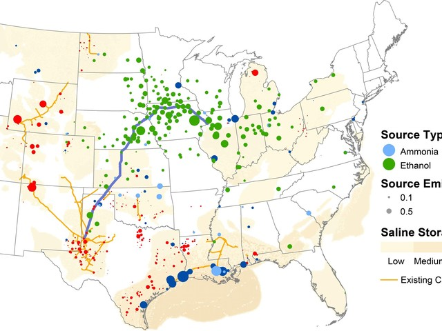 Funded by new tax credits, US carbon-capture network could double global CO2 headed underground