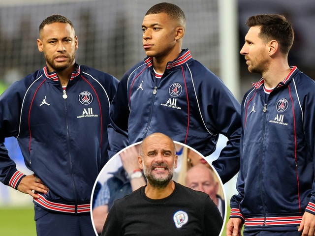 Man City boss Pep Guardiola admits 'I don't know' how to stop Messi, Mbappe and Neymar in Champions League showdown
