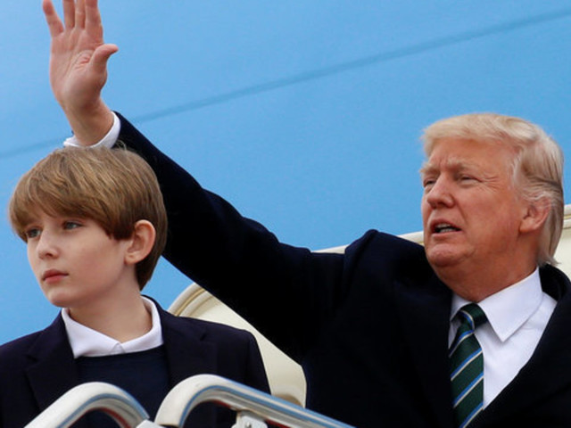 Internet Freaks Over 19th-Century Books Featuring Boy Named 'Baron Trump'