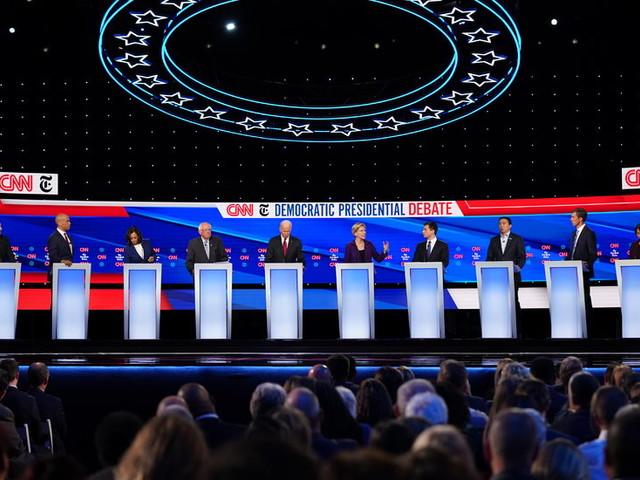 DealBook Briefing: Health Care and Billionaires Took Center Stage at Last Night's Democratic Debate