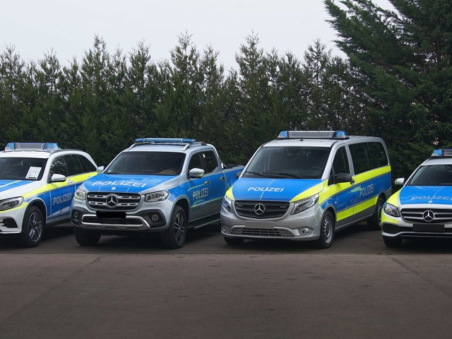 Mercedes-Benz to Preview New Police Vehicles in Germany, Promises They'll Be 'Electrifying'