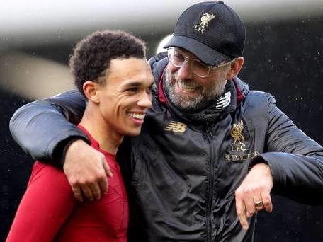 Liverpool defender Trent Alexander-Arnold embracing title race