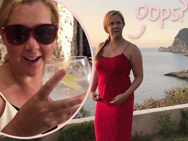 Amy Schumer Accidentally Shared Pregnancy Reveal — Which Is Funny Considering…