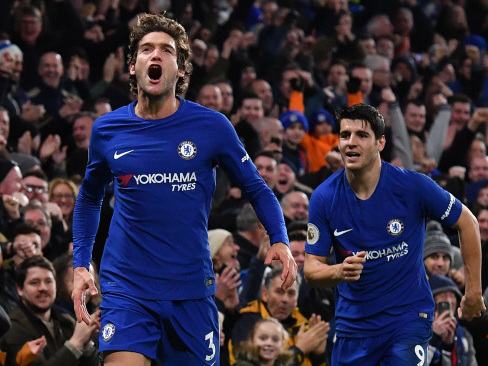 Chelsea close on United after Brighton win