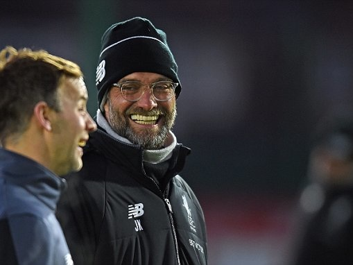 Jurgen Klopp: We're all playing for second place now