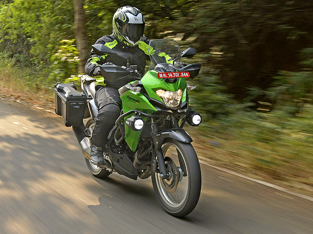Review: 2017 Kawasaki Versys-X 300 review, test ride