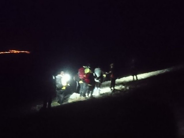 Braeriach hillwalker rescued after night search
