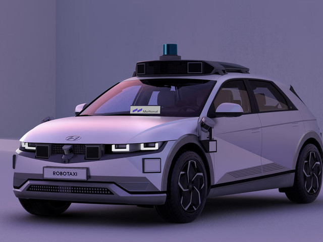 Self -driving Hyundai Ioniq 5 robotaxi to start operations in 2023
