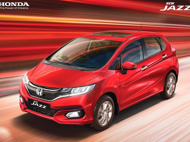 2020 Honda Jazz Facelift Unveiled With Electric Sunroof; Bookings Open
