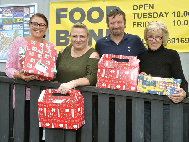 Hampers will help bring festive cheer