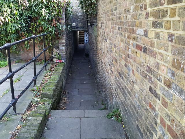 London's Alleys – Shepherdess Walk, N1