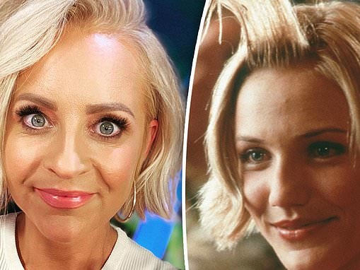 There's something about Carrie Bickmore! The Project host debut's her new cropped locks on TV