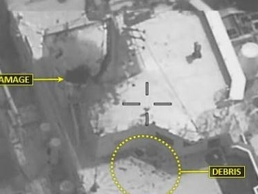 US military says photos show damage Iranian-made 'kamikaze' drone packed with explosives did in deadly tanker attack