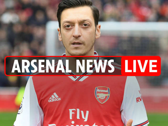 7am Arsenal news LIVE: Ozil is still 'happy to stay', Dembele transfer tussle with Liverpool, Partey future UPDATE