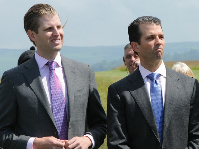 Eric Trump & Donald Trump Jr. are very jealous of precious Jared Kushner