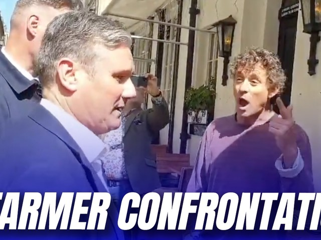 """""""Get Out of My Pub!"""": Starmer Confronted by Furious Pub Landlord"""