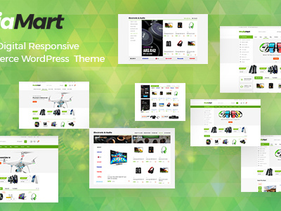 MediaMart - Gadgets & Digital Responsive WooCommerce WordPress Theme (WooCommerce)