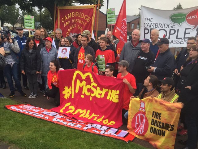 McDonald's workers are going back on strike – and this time it will spread