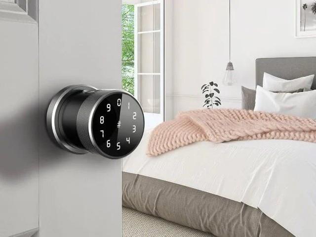 Discreet Biometric Security Locks - The LockPax 'Lola' Biometric Door Lock Can be Accessed Four Ways (TrendHunter.com)