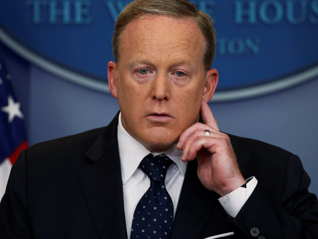 Sean Spicer On Donald Trump Jr's Russia Meeting Contradicts President