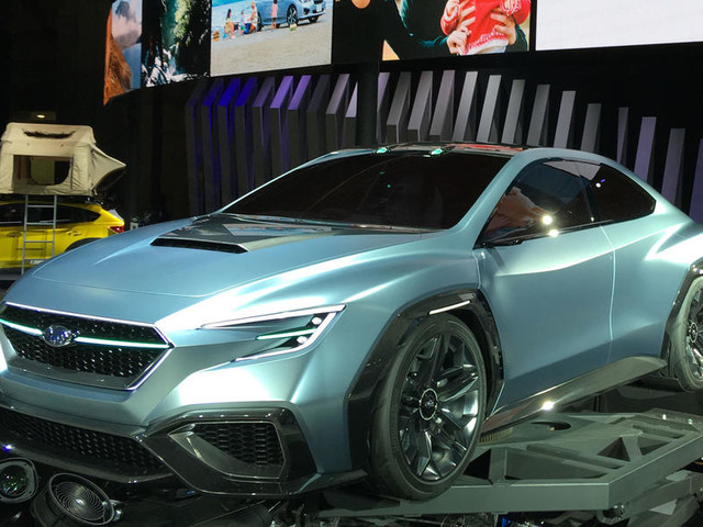 Subaru Viziv Tourer concept to preview future WRX estate