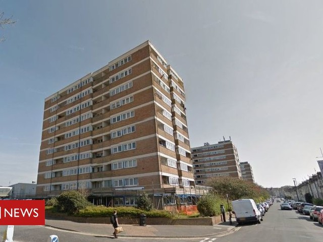 Hove flats fall: Murder arrest as woman plunges to her death