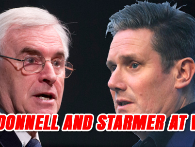 McDonnell and Starmer at War Over Second Referendum
