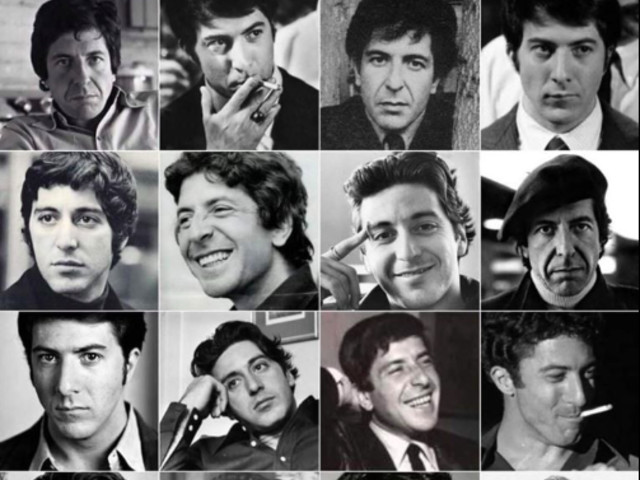 'Everyone's favorite game: Cohen, Pacino or Hoffman?'