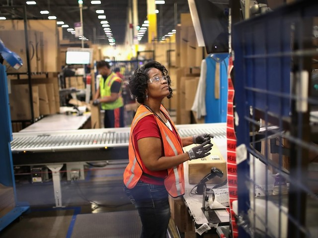 The US has added jobs for a record 105 straight months. But a commonly overlooked measure paints a far less rosy picture of the labor market.
