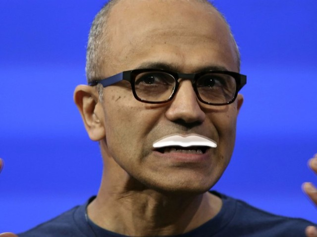 Microsoft CEO Satya Nadella explains what happened when employees struggled with a gross milk situation (MSFT)