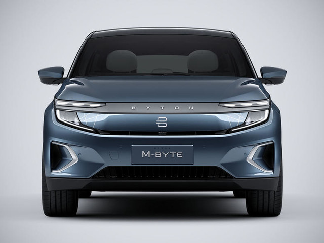 Byton M-Byte electric SUV breaks cover in production form