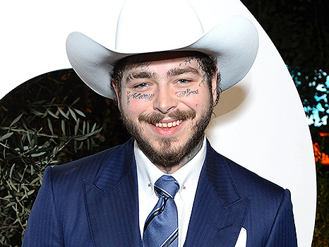 Post Malone Spends $1.6 Million On New Smile With Diamond Vampire Fangs — Before & After Pics