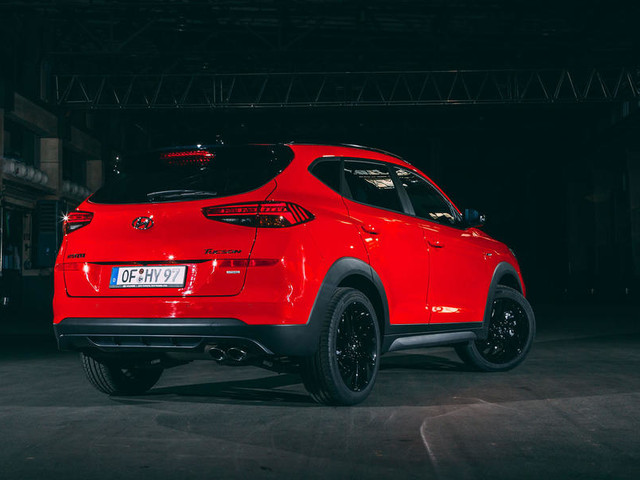 Hyundai Tucson N Line revealed with stiffened chassis, sportier styling