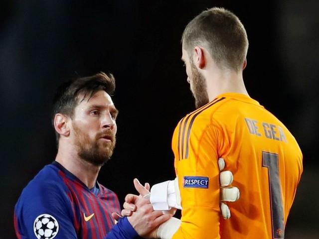 Barcelona mock Man Utd with brutal Lionel Messi tweet after Champions League win