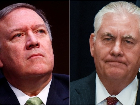 Trump ousts Rex Tillerson as U.S. secretary of state
