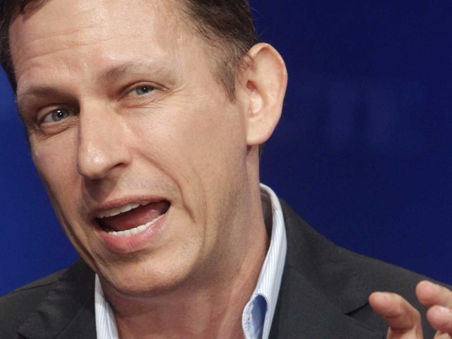 Peter Thiel's investment firm is reportedly delivering huge returns to investors