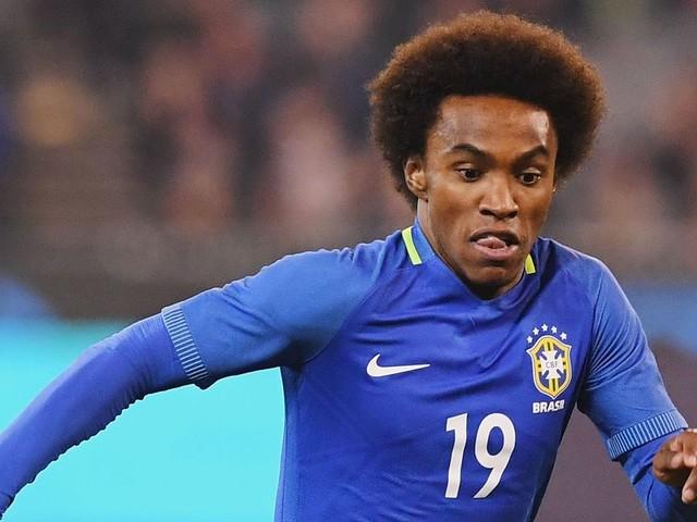 Willian earns Brazil call but David Luiz misses out again