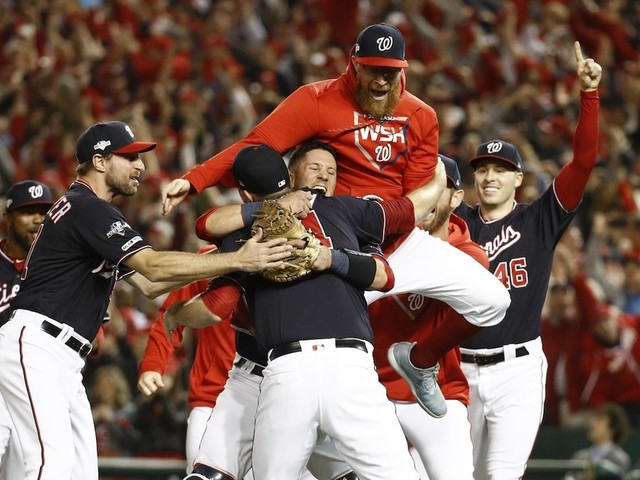 Nats win, D.C. in World Series first time since '33
