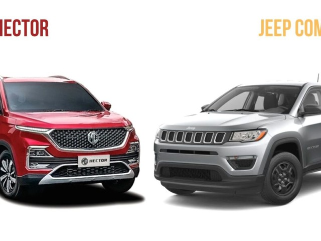 MG Hector Vs Jeep Compass: Specification Comparison