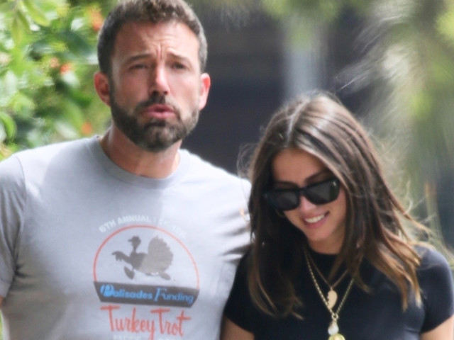 Ana de Armas Reunites With Ben Affleck After Father's Day For Walk With Her Dog