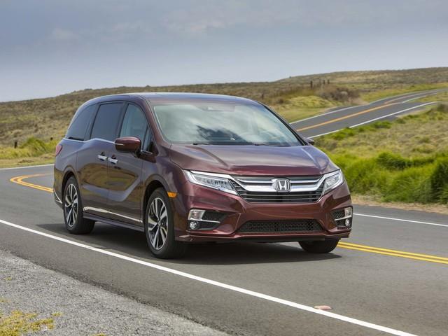 2018 Honda Odyssey Earns IIHS Top Safety Pick+, 5-Star NHTSA Score