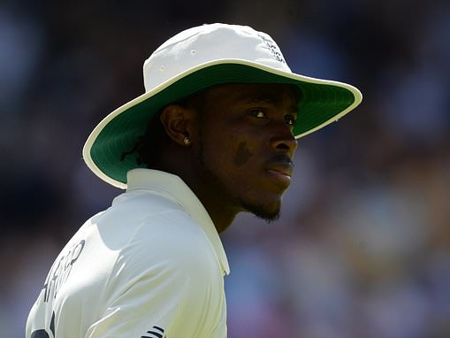 England bowler Jofra Archer reveals relief that Steve Smith got up after being hit by 92mph ball