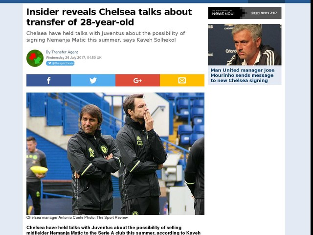 Insider reveals Chelsea talks about transfer of 28-year-old