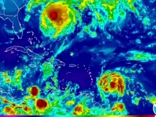 Caribbean braces again as Maria becomes a hurricane