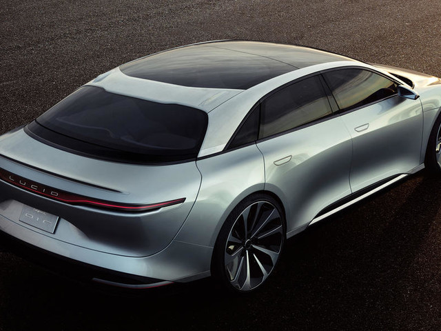 235mph Lucid Air due in 2019 as electric BMW 7 Series rival