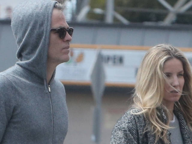 Chris Pine & Girlfriend Annabelle Wallis Stock Up on Groceries Amid Quarantine