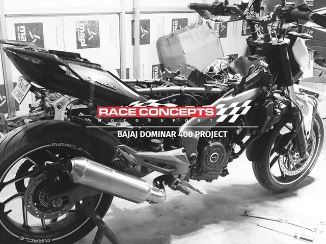 Modified Dominar 400 Gets 20% More Power & Torque