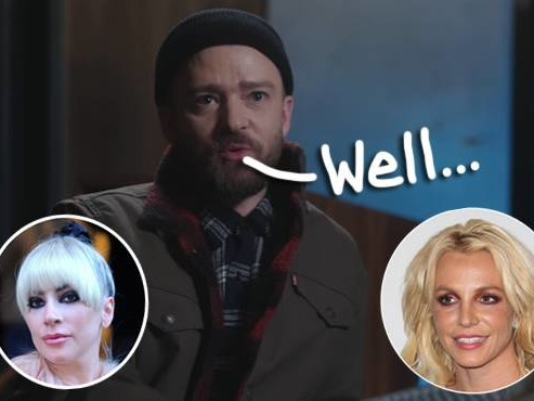 Justin Timberlake Throws Shade At Britney Spears And Lady GaGa Over Vegas Residency!