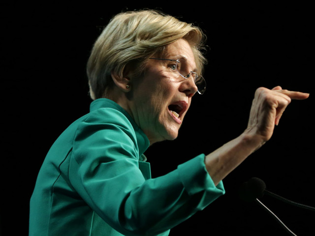 Elizabeth Warren Says Jeff Sessions Should Be Fired